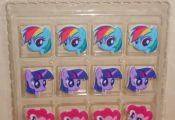 My Little Pony Set Edible Sugar Cupcake Toppers DecoPac 12 ct Multi-Color