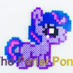My Little Pony Silly Filly Perler Ponies: Twilight Sparkle by ThePerlerPony