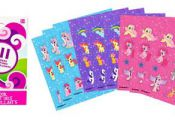 My Little Pony Sticker Book 9 Sheets - Party City