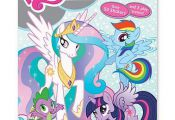 My Little Pony Sticker Scene & Coloring Book