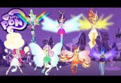 My Little Pony Transforms Equestria Girls Mane 7 into Daydream forms – MLP Col...