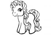 My Little Pony Unicorn Coloring Pages - Free Printable Coloring ...