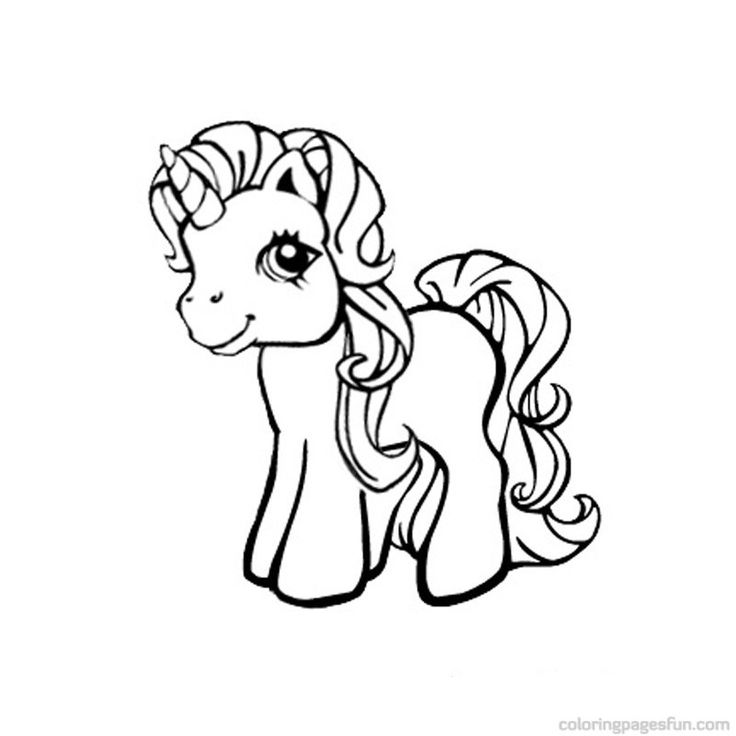 My-Little-Pony-Unicorn-Coloring-Pages-Free-Printable-Coloring My Little Pony Unicorn Coloring Pages - Free Printable Coloring ... Cartoon