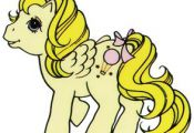 My Little Pony Vintage- allis-mlp:  Scanned mlp sticker ~ Baby Lofty Scanned by ...