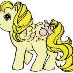 My Little Pony Vintage- allis-mlp: Scanned mlp sticker ~ Baby Lofty Scanned by m...