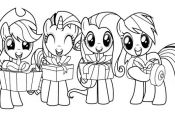 My Little Pony With Friends Coloring Page