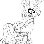 My Little Pony Zecora Coloring page  Coloring, page, Pony, Zecora #cartoon #colo...