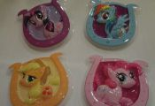 My Little Pony cake toppers, 4 pieces, table decoration, or make a garland, craf...