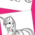 My Little Pony coloring pages // Páginas para colorear de Mi pequeño pony
