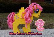 My Little Pony pinata, Fluttershy, Pinkie Pie, Rainbow Dash,  Rarity, Apple Jack...