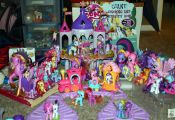 My Little Pony toys!! I know someone that had this and still does! :)