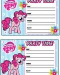 My-Little-pony-invitations-free-printables-Pinkie-Pie My Little pony invitations - free printables (Pinkie Pie) Cartoon