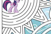 My little Pony twilight sparkle activity sheet | hubnetwork.com hub network has ...