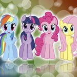 My little pony fim mane 6   colors    wallpaper by bluedragonhans d4me0d6