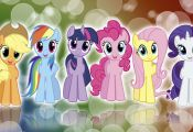 My little pony fim mane 6   colors    wallpaper by bluedragonhans d4me0d6