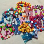 NEW PONIES ADDED My Little Pony Raver Kandi Bracelet by vjgyo, $4.35