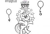 New My Little Pony coloring sheet... color in Twilight Sparkle.