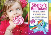 Our My Little Pony Personalized Photo Cards allow you to upload your favorite ph...