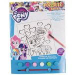 Paint KIT MY Little Pony Coloring Board,6 Paints,1 Brush, Case Pack of 24, Multi...
