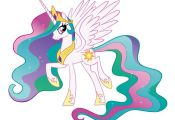 Princess Celestia My Little Pony Friendship Is Magic HUGE GIANT PRINT POSTER | e...
