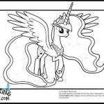 Princess Luna; My Little Pony Princess Luna Coloring Pages