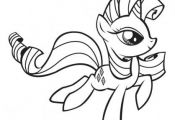 Print my little pony rarity coloring pages