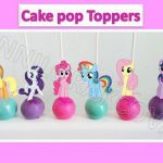 Printable My little Pony, Cupcake Topper, Cake Pop Topper,picks, decor, dye #Myl...