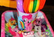 Rainbow Dash / My Little Pony Birthday Party Ideas | Photo 1 of 46 | Catch My Pa...