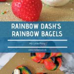 Rainbow Dash's rainbow bagels