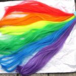 Rainbow Tail Unicorn Horse My Little Pony Tail by GustavosGoods