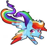 Rainbow dash rainbow power my little pony mlp