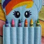 Resultado de imagen para fieltro con motivos my little pony