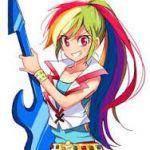 Resultado de imagen para imagenes de my little pony rainbow dash