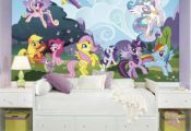 "RoomMates ""My Little Pony"" Ponyville wall mural"