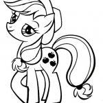 Silhouette My Little Pony 'AppleJack' Template/ Stencil/ Sjabloon/ Trans...