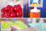| Sparkle Rainbow Candy Table – My Little Pony party theme | soiree-eventdesig...