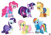 Speed Paint: My Little Pony: Equestria Girls Outfits - YouTube