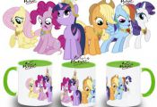 TAZA MY LITTLE PONY ELEMENTOS ARMONIA VARIOS COLORES mug tazza tasse coupe niño...