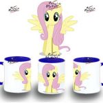 TAZA MY LITTLE PONY FLUTTERSHY SOLA varios colores mug tazza tasse coupe niño |...