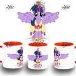 TAZA MY LITTLE PONY TWILIGHT SPARKLE GALA colores mug tazza tasse coupe niño | ...