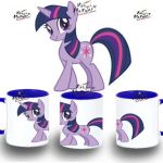 TAZA MY LITTLE PONY TWILIGHT SPARKLE SOLA colores mug tazza tasse coupe niño | ...