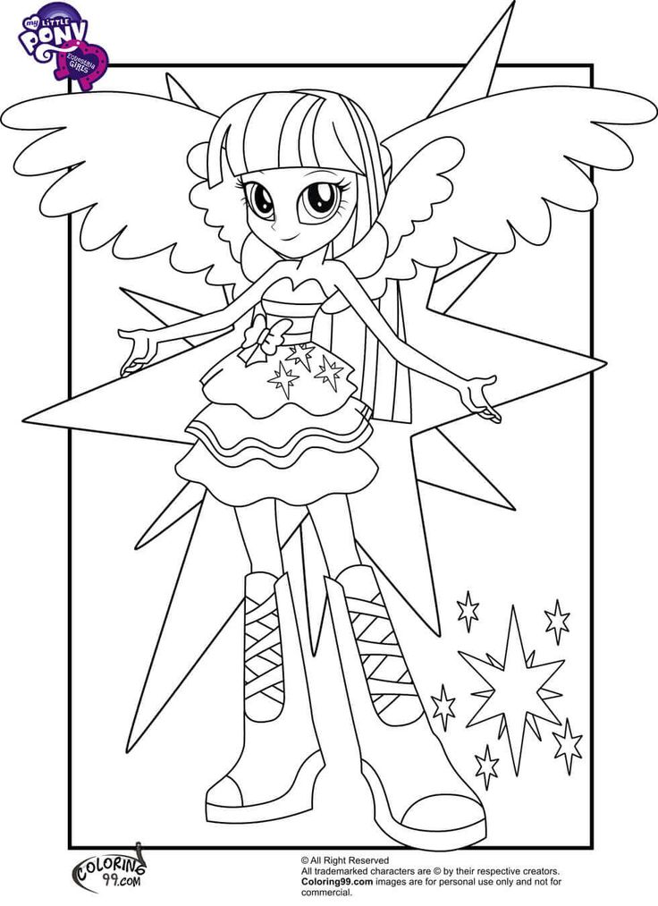 Twilight-Sparkle-From-My-Little-Pony-Equestria-Girls-Coloring-Page Twilight Sparkle From My Little Pony Equestria Girls Coloring Page Cartoon