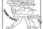Twilight Sparkle - My Little Pony Rainbow Rocks Girls   Woo! Jr. Kids Activities