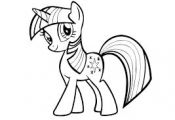 Znalezione obrazy dla zapytania my little pony black and white