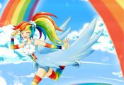 chikorita85, My Little Pony, My Little Pony: Friendship Is Magic, Rainbow Dash, ...