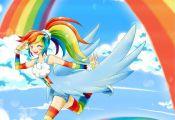 chikorita85, My Little Pony, My Little Pony: Friendship Is Magic, Rainbow Dash, ...