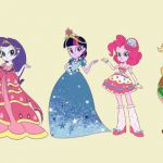 disney characters valentines day coloring pages - equestria girls my little pony...