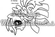 fieltro con motivos my little pony ile ilgili görsel sonucu  con, fieltro, gör...