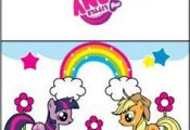 {free} printable My Little Pony Card 2
