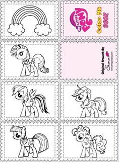 free-printable-My-Little-Pony-Color-Book {free} printable My Little Pony Color Book Cartoon
